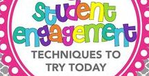 Fun Classroom Engagement / Do you want to engage your students with fun and new strategies that keep them engaged?  Streategies for students and teachers to make learning fun!  From tips to websites, to activities and more...you will find engaging ways to keep students attentive.