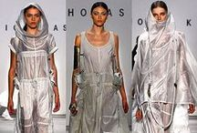 Nicholas K x Huntress / Huntress Collection jewellery has collaborated with clothing designer Nicholas K for her FW15 runway shows in New York and Milan and her SS16 runway show in New York (runway images of ss16 show courtesy of pinner TresHaute)