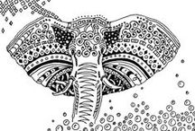 African coloring pages / Travel in African with our many coloring pages. See more --> http://www.coloring-pages-adults.com/africa/