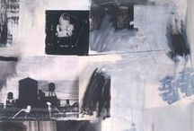 A Level 2016: Mixed Media / Some photographers and filmmakers have chosen to extend the possibilities of photographic representation by using mixed media. Examples can be seen in the work of Sally Mankus, Jeff League and Robert Rauschenberg. They have combined a range of media and techniques when constructing their images.