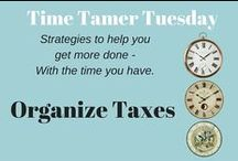 Time Tamer Tuesdays / Tuesday is Time Tamer Day over on the Calm the Chaos, Wellrich Organizer Blog.  Here are some quick, simple strategies to help you do more with the time you have.