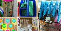 Fun Teacher Hacks / Teachers are always creating new ways to use everyday things in their classroom.  Find tips and tricks for you to take and use in your classroom right now.