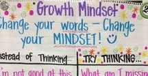 Growth Mindset / A collection of websites, resources, and activities for teaching and using the growth mindset in the upper elementary classroom.  Includes posters, implementation ideas, and blog posts about utilizing the growth mindset.