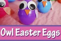 Easter Fun / Naturally dyed Easter Eggs, real food recipes for Easter lunch and dinner, and a few easter crafts for kids!