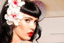 Rockabilly Style / Rockabilly, pinup styles, vintage dresses, hair and makeup