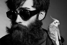Style / Style inspiration, beautiful looks, beards, tattoos, glasses, clothes.