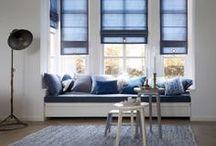 Vouwgordijnen. / Maak je interieur af met schitterende vouwgordijnen. Vouwgordijnen geven een ruimte een warme uitstraling en doordat alle stoffen uit de collectie ook geschikt zijn voor gordijnen, kun je altijd een passende combinatie maken!