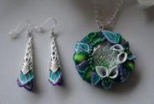 Sieraden Carolina / My handmade jewelry made of polymer clay