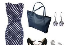 Ways to Wear Polka Dots / A few ways to wear polka dot outfits!