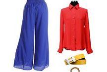 Ways to Wear Palazzo Pants / A few ways to rock palazzo pants!