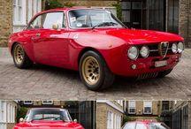 Alfa Romeo / Red italian muscle.