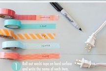 Washi Tape / Do you love Washi Tape? Here are the best things in your life you can do with washi tape.  Like, right now.