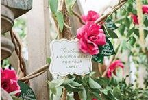 wedding seating cards / Find creative wedding seating card and wedding escort card ideas for your wedding