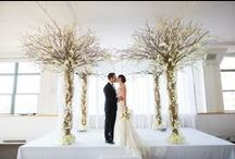 tribeca wedding / A sophisticated real wedding with modern design ideas in a New York City loft