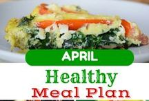 meal planning on the cheaps / Easy meal plans, using healthy ingredients, without spending a fortune.