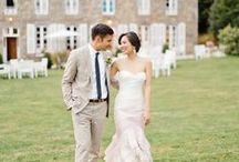 a french fête / A fashionista marries her Prince Charming in Brittany