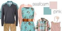 Spring & Summer Styles / Inspiration for Spring family photo session attire.