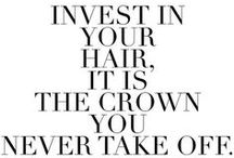 It's All About The Hair / Hairstyle inspiration to complete your look.