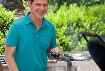 "Bobby Flay's Recipes: Boy Meets Girl, Brunch At Bobby's, Grill It , Hot Off The Grill, Throwdown / Robert William ""Bobby"" Flay (born Dec 10, 1964) is an American celebrity chef, restaurateur, & reality television personality. He is the owner and executive chef of several restaurants: Mesa Grill in Las Vegas, Bahamas; Bar Americain in New York & Uncasville, CT; Bobby Flay Steak in Atlantic City; & Bobby's Burger Palace in eighteen locations across eleven states.Flay has hosted thirteen cooking shows & specials on Food Network & Cooking Channel, of which eight continue to run:   / by Cecille"