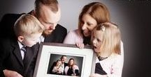 Family Portrait Photography / Different ways of capturing beautiful photos of families old and young, big and small