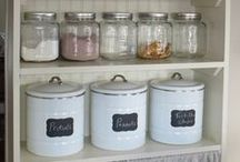 Pantry, Organization and Cleaning / Cleaning and organization tips. Dream pantries.