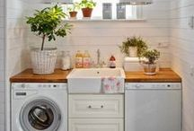 Home: The Laundry Room / Ways to make your laundry room more functional, and aesthetically appealing