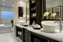 Home: The Bathroom Edition / Every bathroom deserves a little love; Use these ideas and designs to make yours as comfortable and inviting as you'd like!