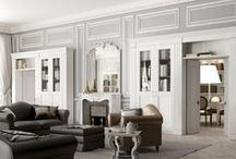 English Mood • The living room • / The English Mood living area brings a unique atmosphere to country and town houses. The number of items available makes for a wide variety of solutions to choose from.