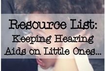 Deaf/Hard of Hearing / Resources for families having children who are deaf or hard of hearing