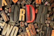 TYPOGRAPHY: Letters, words, fonts / Inspiring typography