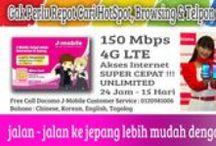 KARTU (simcard) INTERNET JEPANG / Kartu DOCOMO kini hadir di Indonesia, bagi yang ingin pergi ke Jepang dapat memesannya di 082244244617, Kartu ini tersedia dalam 2 type Micro dan Nano. HANYA Rp. 389.000,- untuk pemakaian 15 hari di Jepang. Kuota 1,5Gb Didukung dengan teknologi 4G LTE.