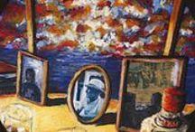 Mauro Jofré Pintura / MAURO JOFRE VIGNES  (1961)  Nace en Santiago, Chile. Ingresa a la Facultad de Artes de la Universidad de Chile