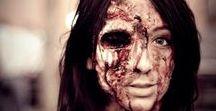 X-treme makeup / horror makeup, fantasy makeup, scary makeup itp.