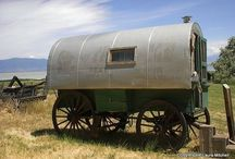 Sheep Camp Wagons