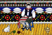 Icoanepesticla-Sapanta.Ro / Icoane pe sticla, realizate de artistul popular din Sapanta, Ioana Lutai / http://icoanepesticla-sapanta.ro