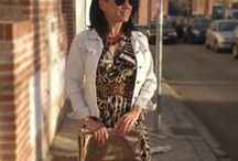 Wild Spring / #Fashion #SpringOutfits #Maxidress #AnimalPrint #LeopardPrint    #https://mylovelywishes.wordpress.com