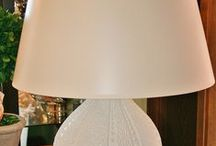 Webster House Lamps / We have a unique blend of colors, styles, & sizes.