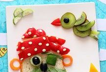 Playing with food / Food inspiration for the littles ones