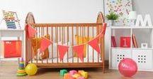 El cuarto de tu bebé / Ideas maravillosas para que conviertas el cuartos de tus chiquitines en un mundo de fantasía.