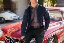 Classic Cars / Männer haben eine Schwäche für Klassiker – sowohl bei Autos als auch in der Mode.  Auf dieser Pinnwand findet beides zusammen. Und wir zeigen Ihnen, mit welchen Outfits Sie bequem unterwegs sind.