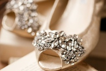 Bridal Shoes / Feel and look like Cinderella in these slippers for your special day.