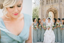 Bridesmaid Beauty  / Don't put your bridesmaids in a potato sack dress. Let them walk down the aisle in style, complimenting your taste.