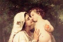 bouguereau / ..and variations on the theme.