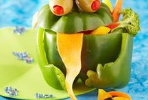 Healthy Halloween Treats / Food professionals use their talent in creating wonderful and very tasty treats for your little ones, a party, or simply family dinner. An easy way to ensure your kids get their share of veggies during a month full of sweets!