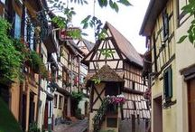 Alsace / Charmants villages alsaciens