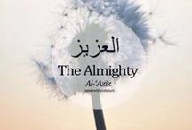 Names and attributes of Allah.