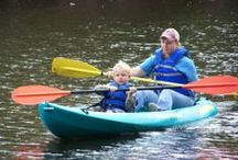Paddle & Play / The Brazosport Area offers countless possibilities for paddling adventures of all types. There is fun to be had in the many waterways that snake through Lake Jackson, Surfside Beach, Clute and Freeport.