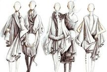 Fashion ilustration / Rysunek