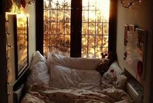 cozy nooks / by Erin Parcells