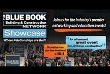 Network Showcases / Want to make new contacts, reconnect with past ones and learn about the latest tools to build your business? If you're a part of the commercial construction industry, your opportunity is here: The Blue Book Network Showcase, the industry's premier education and networking event. It's where relationships are built! For more information, visit http://www.thebluebook.com/showcase.